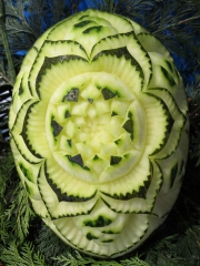 Even-art. decoraci�n con frutas......talladas. - foto 8