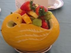Even-art. decoraci�n con frutas......talladas. - foto 4