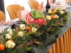 Even-art. decoraci�n con frutas......talladas. - foto 2