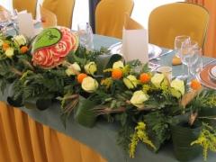 Even-art. decoraci�n con frutas......talladas. - foto 1
