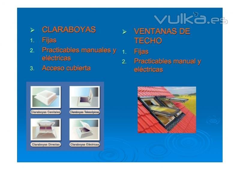 Foto claraboyas c pulas lucernarios ventanas de techo - Lucernarios y claraboyas ...