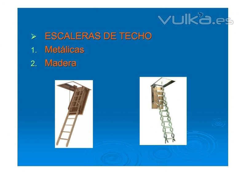 Foto escaleras de techo escaleras escamoteables for Escaleras escamoteables