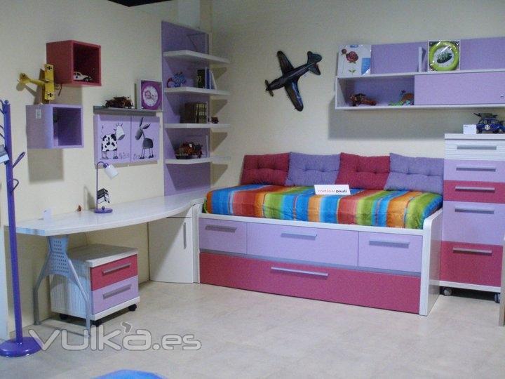 Foto composici n juvenil alta calidad m ltiples colores for Muebles mondejar