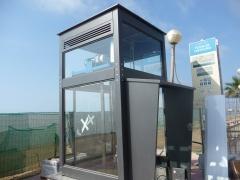 Elevador exterior con estructura autoportante panoramica