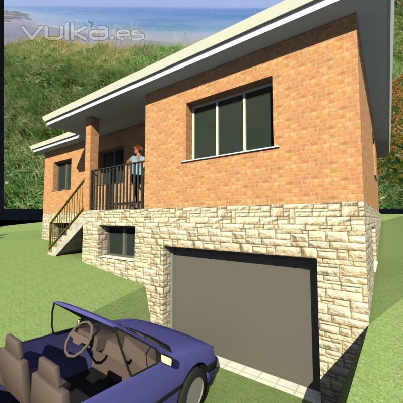 Foto proyectos de viviendas unifamiliares con trabajo en 3d - Proyectos de viviendas unifamiliares ...