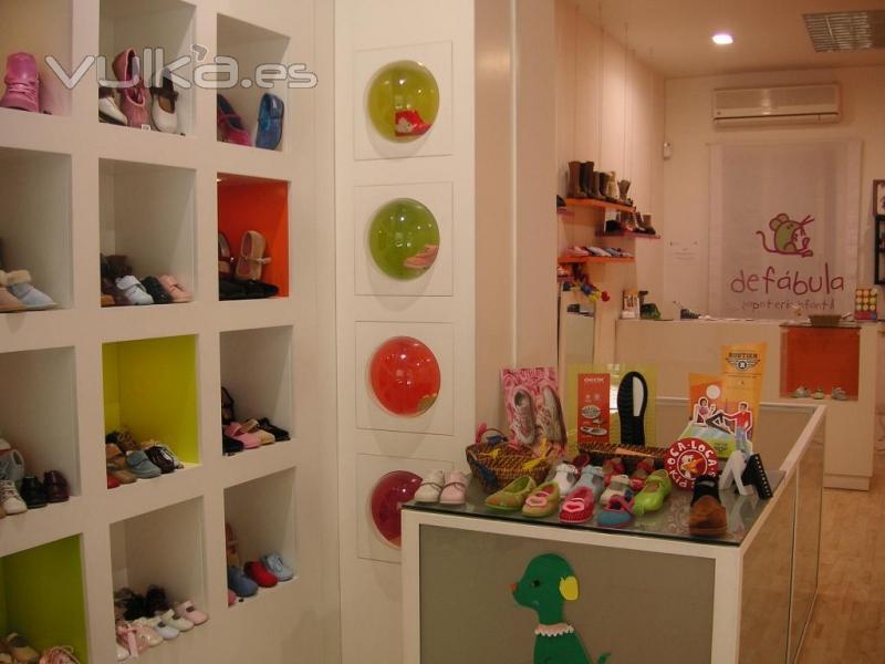 Decoracion Zapateria Infantil ~ Productos y servicios Zapateria De Fabula