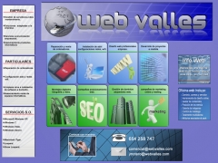Web valles diseño paginas web