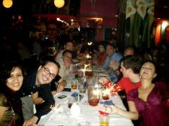 Los amigos de plannic.com nos fuimos a cenar a un restaurante mexicano. ��nos lo pasamos genial!!