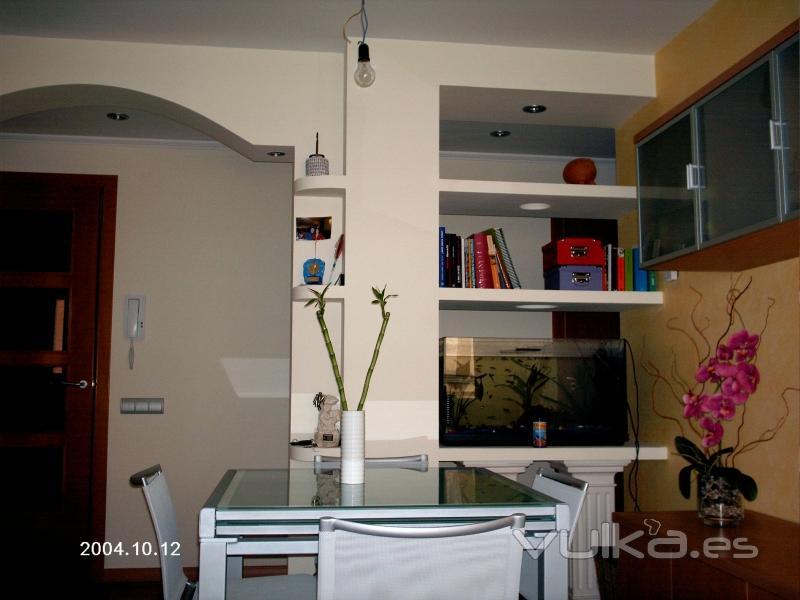 Foto estanterias con pladur y separador estancias - Estanterias pladur fotos ...