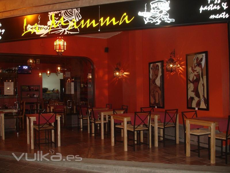 Foto fachada del restaurante for Fachada para restaurante