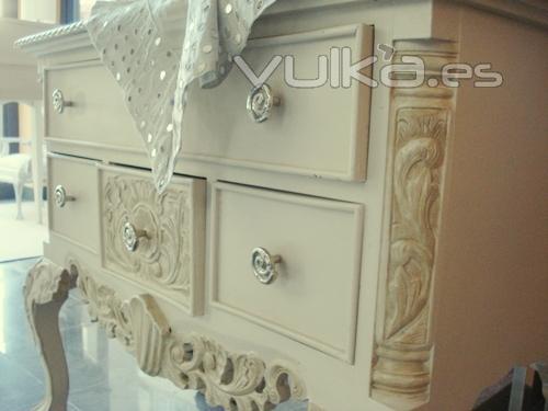 Restauración De Muebles De Madera Con Esmalte Sintético Y Tinta Pictures to p...
