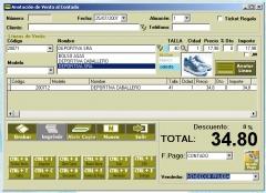 Software gestión zapaterias