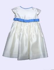 Colecci�n fiesta vestido para ni�a, vestido de seda. vestido para ceremonia.