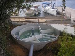 Biodepuradora de aguas residuales