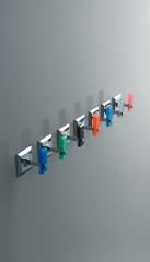 Todos los colores del plexiglass de t luce accesorios ba�o sin taladro
