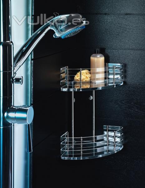 Foto accesorios de ba o especiales para duchas de clase t for Jabonera de pared bano