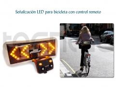 Se�alizaci�n led para bicicleta con control remoto - http://bit.ly/lczml7