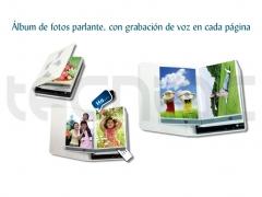 �lbum de fotos parlante con grabaci�n de mensajes en cada p�gina - http://bit.ly/gy4wne