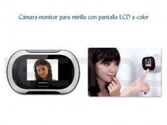 Cámara-monitor de 2.0mp para mirilla con pantalla lcd a color de 2.5 - http://bit.ly/mdrimt