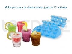 Molde para vasos de chupito helados (pack de 12 unidades) - http://bit.ly/ltbqsi