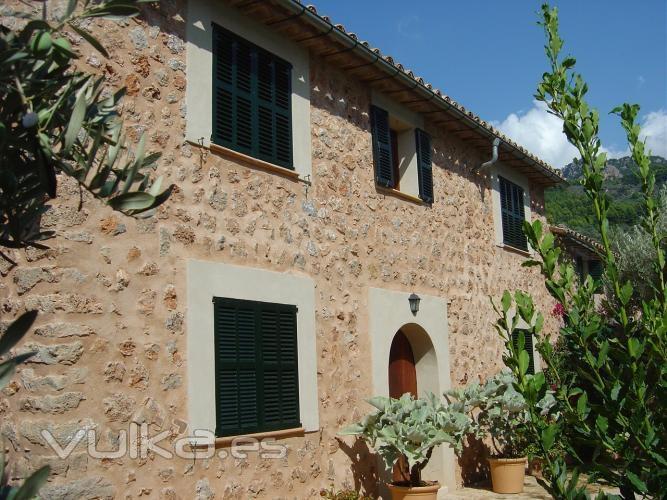 Foto casa r stica en mallorca de alquiler vacacional soller - Casas rusticas mallorca ...