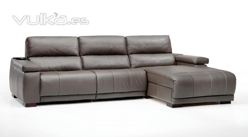 Sof s de piel for Sofas chaise longue de piel