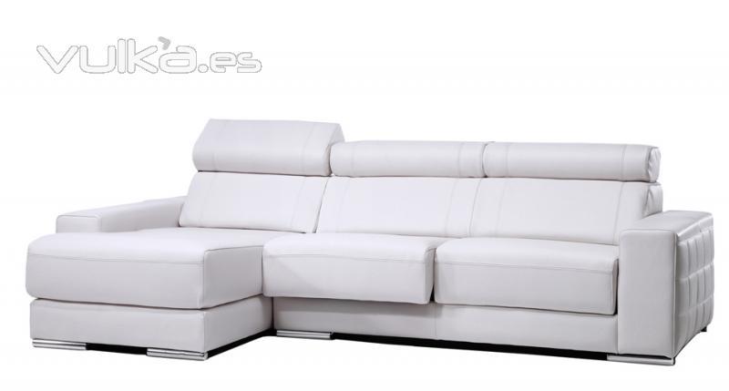Foto Sofa Piel Chaise Longue Con M Ltiples Medidas Y