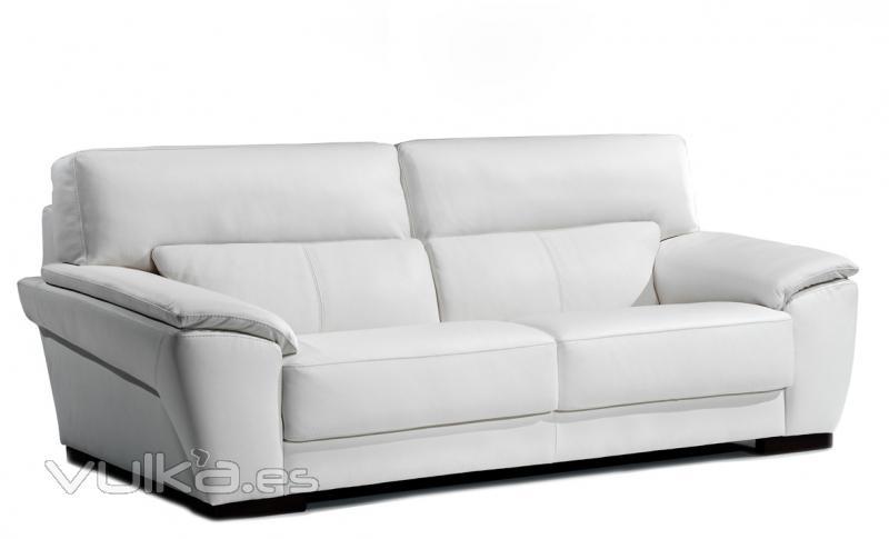 Foto sofa piel de l nas actuales - Sofa de piel ...