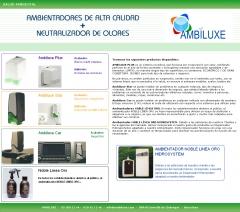 Ambiluxe  productos 100% naturales y los sistemas mas innovadores del mercado de la ambientaci�n