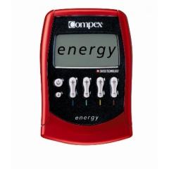 Electroestimulador de 4 canales: compex energy mi-ready