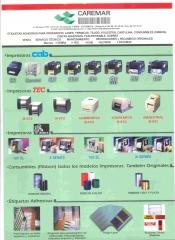 Resumen de impresoras, hemos incorporado a nuestro catalogo impresoras godex, meto,intermec, datamax y sato