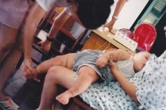 tratamiento de paralisis infantil con acupuntura en Pekin.