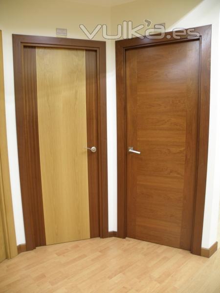 puertas de madera interiores lisas puertas diseo lisas madera sapely