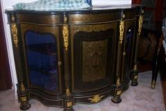Gran mueble entredos franc�s napole�n -iii, realizada con la t�cnica de marqueter�a de boulle.
