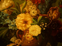 Detalle oleo sobre lienzo