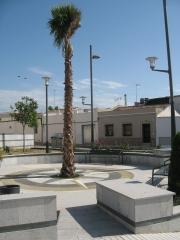 Urbanización cuesta san pedro. plaza lucas marchena. linares (jaén)
