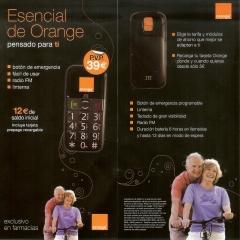 Tel�fono para personas mayores por s�lo 27 Euros (Orange)