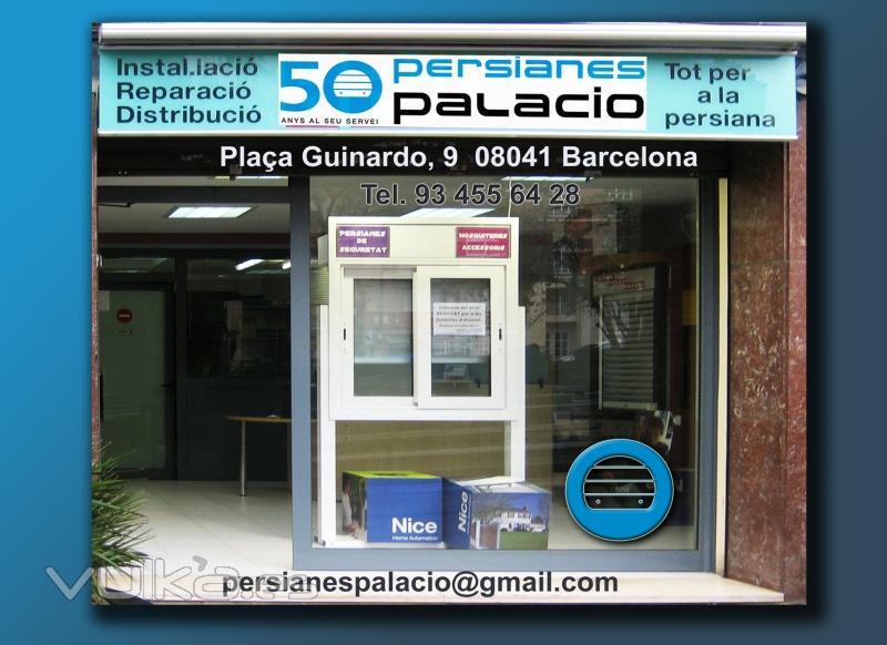 Foto tienda de persianas palacio - Persianas palacio ...