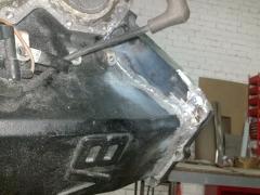 Reparación bloque motor fueraborda de aluminio