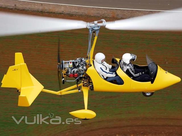 escola de pilots de vol autogiro