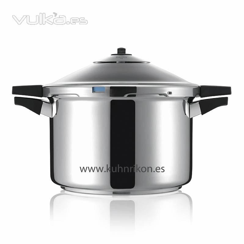 Foto cocina olla a presi n inducci n duromatic kuhn rikon for Empresas de utensilios de cocina