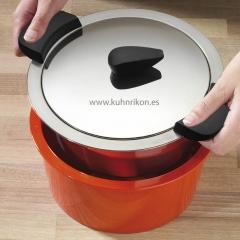 Cocina, baterias colores, bateria  termica , bateria roja, bateria hotpan, kuhn rikon