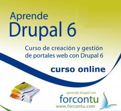Cursos online portales web con drupal 6