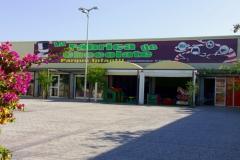 Juegos infantiles ludoteca parque infantil mallorca la fabrica de chocolate exterior.