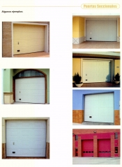 Modelos de Puertas Seccional