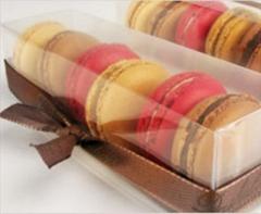 Macarons: se venden en cajitas de 6