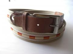 cinturon de piel - visite www.yojanpiel.com
