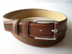 Cinturon de piel de caballero, visite www.yojanpiel.com