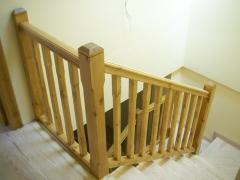 Escalera vista desde parte superior