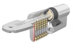 Bombillo tesa modelo tk 100  llave patentada e incopiable con nuevo sistema sensor. seguridad: 5+5+6